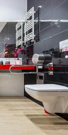 łazienki dla niepełnosprawncyh Cersanit