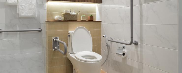 łazienka przystosowana dla niepełnosprawnych dzieci